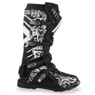Acerbis Graffiti Stiefel Black Kids # SALE