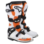 Alpinestars Tech 8 RS Boots orange-black Vented 10 - D 44,5 # SALE