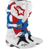 Alpinestars New Tech 10 Stiefel White-Blue-Red