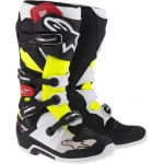 Alpinestars New Tech 7 Stiefel Black-Red-Yellow