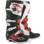 Alpinestars New Tech 7 Stiefel Black-White-Red
