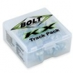 Bolt Motorcycle Hardware Track Pack Kawasaki KX/KXF 48-pcs.