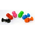 Coloured rear sprocket screws