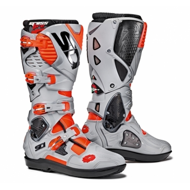 Sidi Crossfire 3 SRS Boots Fluo Red-Ash