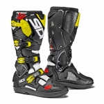 Sidi Crossfire 3 SRS Stiefel White-Black-Fluo Yellow