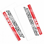 Pro Circuit Fork Decal Kayaba