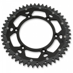 Dual Rear Sprocket Suzuki RMZ 250 04-06, Kawasaki KX 125-500 82-, KXF 250/450 04- (520) black