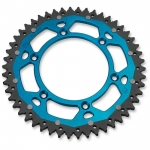 Dual Rear Sprocket Yamaha YZ/YZF + WR/WRF 99- (520) blue
