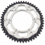 Dual Rear Sprocket Husqvarna 90-13,  GasGas 01-15, Beta 05-14 (520) silver