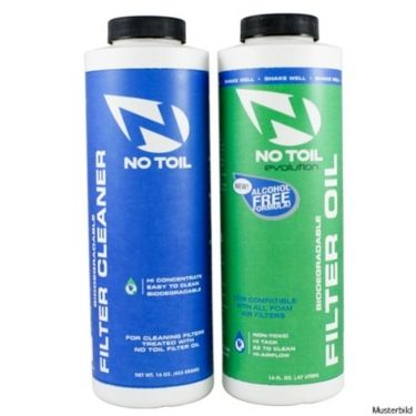 NO TOIL Evolution Filteroil & Cleaner Pack