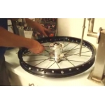 Mounting of wheels