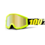 100% Strata Goggle Neon Yellow Mirror 2016