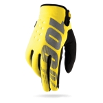100% Brisker Gloves Yellow Warmth Without Weight Kids 2016