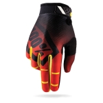 100% RideFit Gloves Corpo Red 2016
