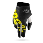 100% I-Track Handschuhe Black-Yellow 2016