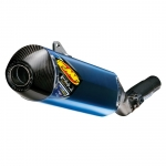 FMF Factory 4.1 RCT Titanium Anodized/Carbon Slip-On Kawasaki