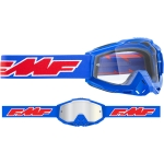 FMF Vision Google Rocket blue - clear Lens