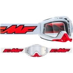 FMF Vision Google Rocket white/clear