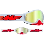 FMF Vision Google Rocket white- true gold Lens