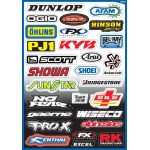 FX Sticker Sheet Sponsor Kit A