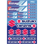 Factory Effex Sticker Sheet Univ Suz Racing