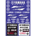 Factory Effex Sticker Sheet Univ Yam Racing