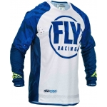 Fly Racing Evolution DST Jersey Blue-White 2020