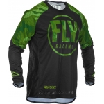 Fly Racing Evolution DST Jersey Green-Black 2020