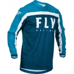 Fly Racing F-16 Jersey Navy-Blue-White 2020