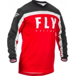 Fly Racing F-16 Jersey Red-Black-White 2020