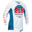 Fly Racing Kinetic K220 Jersey Blue-White-Red 2020 L # SALE