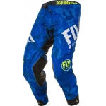 Fly Racing Evolution DST Pants Blue-White 2020