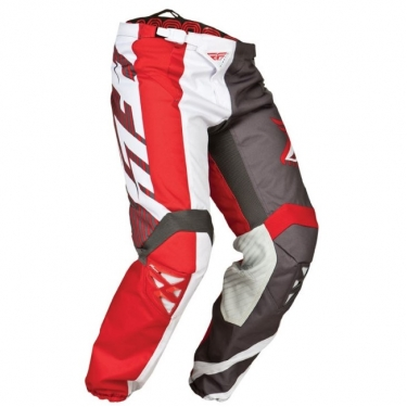 Fly Racing Kinetic Hose Division red-grey-white # SALE