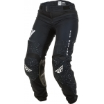 "Fly Racing Women's Lite Pants Black-White Ladies 2020 US 9/10 - 30"" - Ladies 38/40 # SALE"
