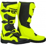 Fly Racing Maverik II Boots Hi-Vis-Black