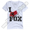 Fox Racing Exclusive T-Shirt weiss Ladies SALE