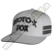 Fox Racing Hall of Fame Flexfit Kappe grau-schwarz EXTREME SALE