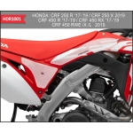 OneDesign Side Pad Grip HDR Honda CRF 250R 18-21, 450R 17-20