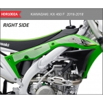 OneDesign Side Pad Grip HDR Kawasaki KXF 450 16-18