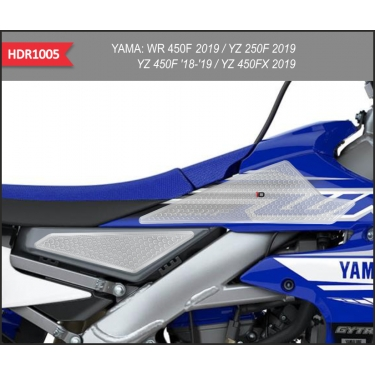 OneDesign Side Pad Grip HDR Yamaha YZF 250 19-, 450 18-, WRF 450 19-