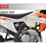 OneDesign Side Pad Grip HDR KTM 125-250 SX 19-, 250-450 SX-F 19-, 250-500 EXC-F 20-