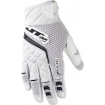 JT Racing Protek Gloves White-Black 2015