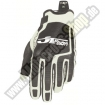 JT Racing Flex Feel Gloves black-white Back-in-Black SALE
