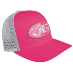 JT Racing Oval Trucker FF® Hat pink-pink LG/XL # SALE