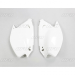 Ufo Plast Side Panels Kawasaki KX 125 03-08, 250 03-08, 500 03