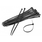 cable ties - black - different sizes
