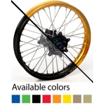 Haan Wheels Enduro Complete Wheel 18 x 2,15 Suzuki RMX 450Z 10- Rear