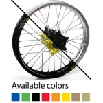 Haan Wheels MX Komplettrad 19 x 1,85 Yamaha YZ 125 99- Rear