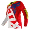 Fox Racing 360 Shirt Shiv Red-White 2016 # SALE