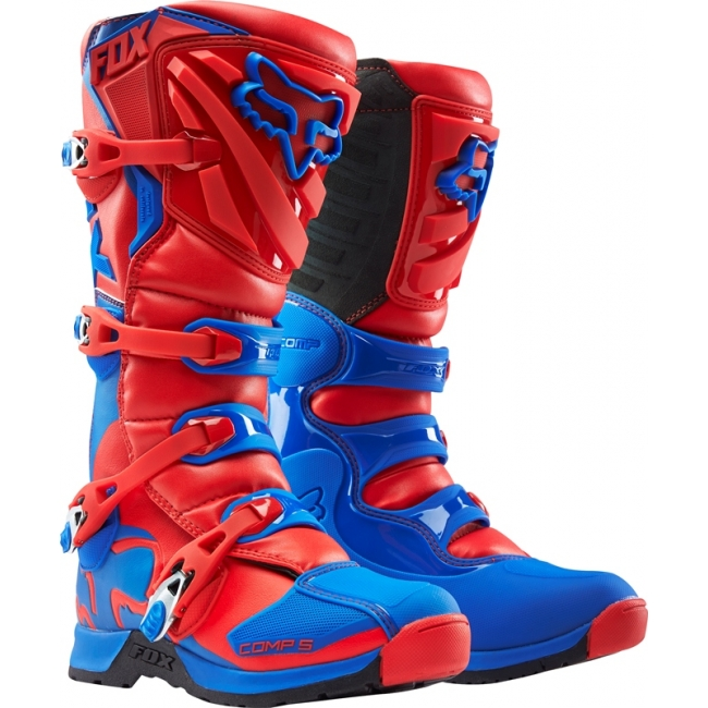 Fox Racing Comp 5 Stiefel Red 2016 # SALE